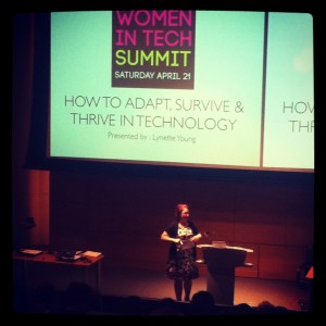 Lynette Young - Philadelphia Women in Tech Summit 2012